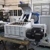 Dvouhřídelový drtič  SCE 800/800 45 kW