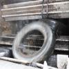 Drtič na pneumatiky SCE 1 300/1150 110 kW  podávací zařízení
