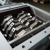 Drtič  na osobní pneumatiky SCE 700/950 30 kW