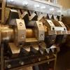 Hřebenový mlýn - jednorotorový drtič na pneumatiky