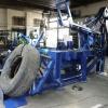 Hydraulické nůžky na pneumatiky HN 900 22 kW