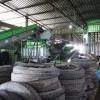 Linka na drcení a recyklaci pneumatik - drtič