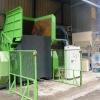 Linka na výrobu náhradního paliva z odpadů z výroby dveřmích a stropních výplní osobních aut